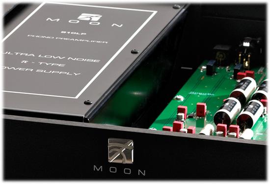 Фонокорректор Sim Audio MOON 810 LP. фонокорректоры.  КРАТКОЕ ОПИСАНИЕ.  Фонокорректор для проигрывателей винилых...